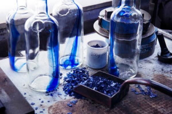 Absolut Blue Bottle