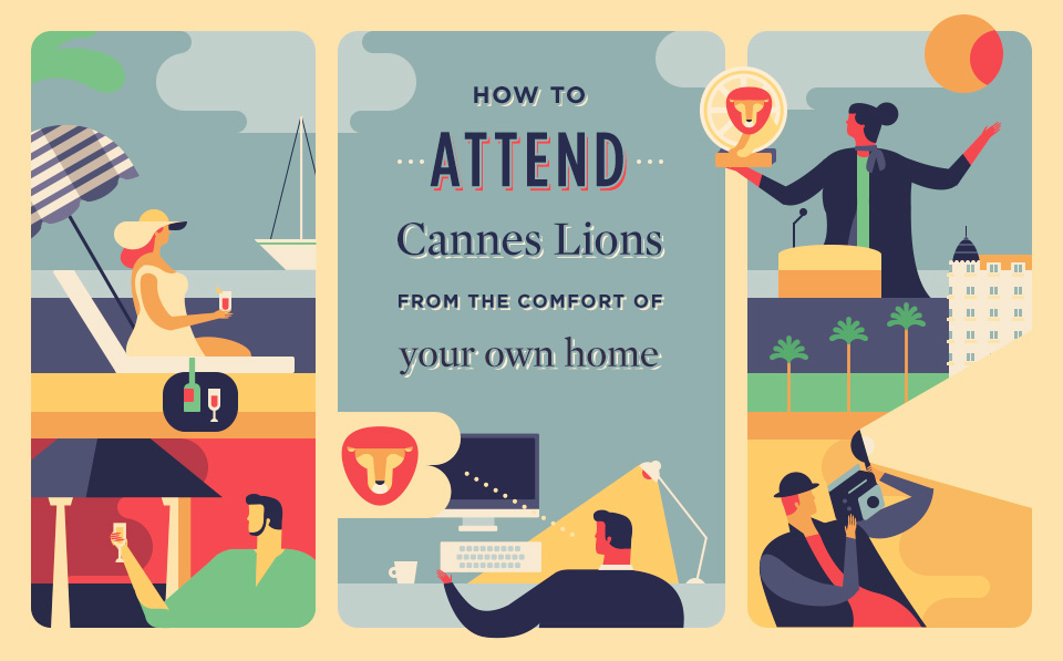 Accessing the Cannes Lions Experience Online