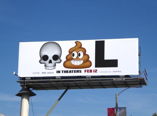 Deadpool Emoji Billboard