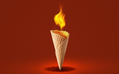 It's Not Easy Being Hot and Cheesy… Ice Cream?