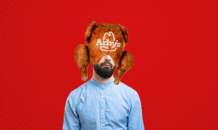 Stuffing Your Head in an Arby's Deep Fried Turkey Pillow Could Be Fun