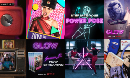 GLOW Throws Down Throwback Social Media Fun