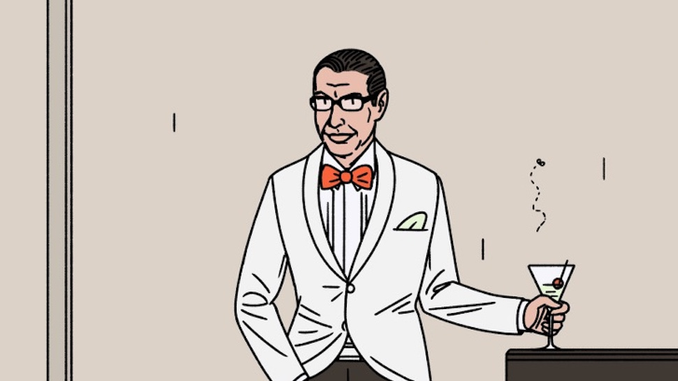 Jeff Goldblum Activity Book