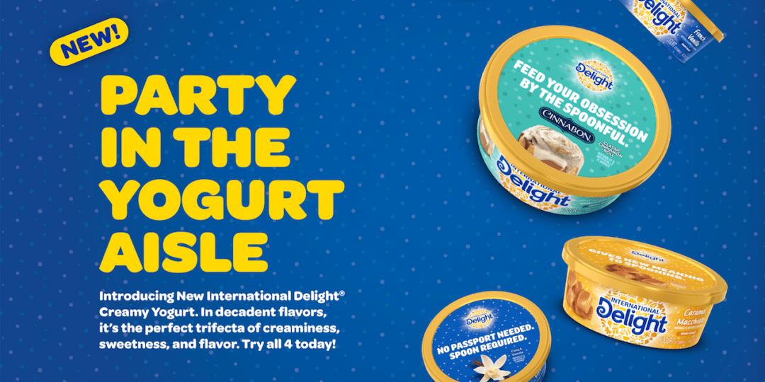 International Delight Drops Into Yogurt Market