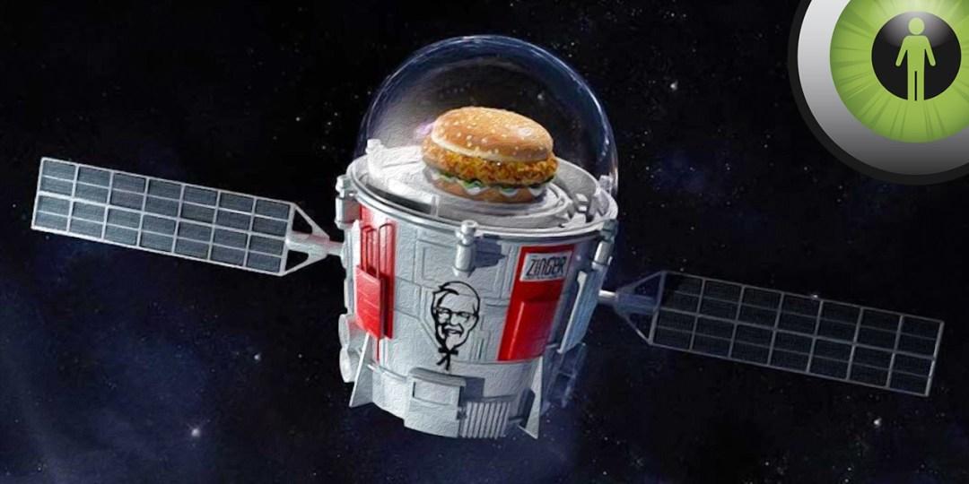 KFC Space Sandwich Twitter Reactions