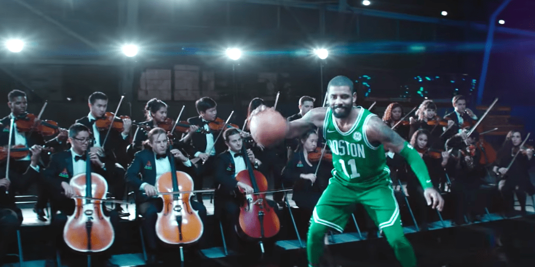 Kyrie Irving Finds Groove in Nike Sneaker Ad