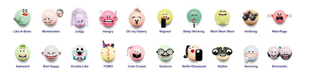 Mentos Ementicon Emojis