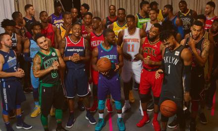 "NBA & Nike Unveil New ""Statement"" Uniforms"