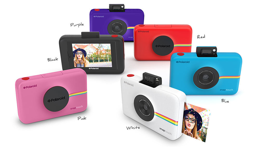 Polaroid Lives On with Snap Touch