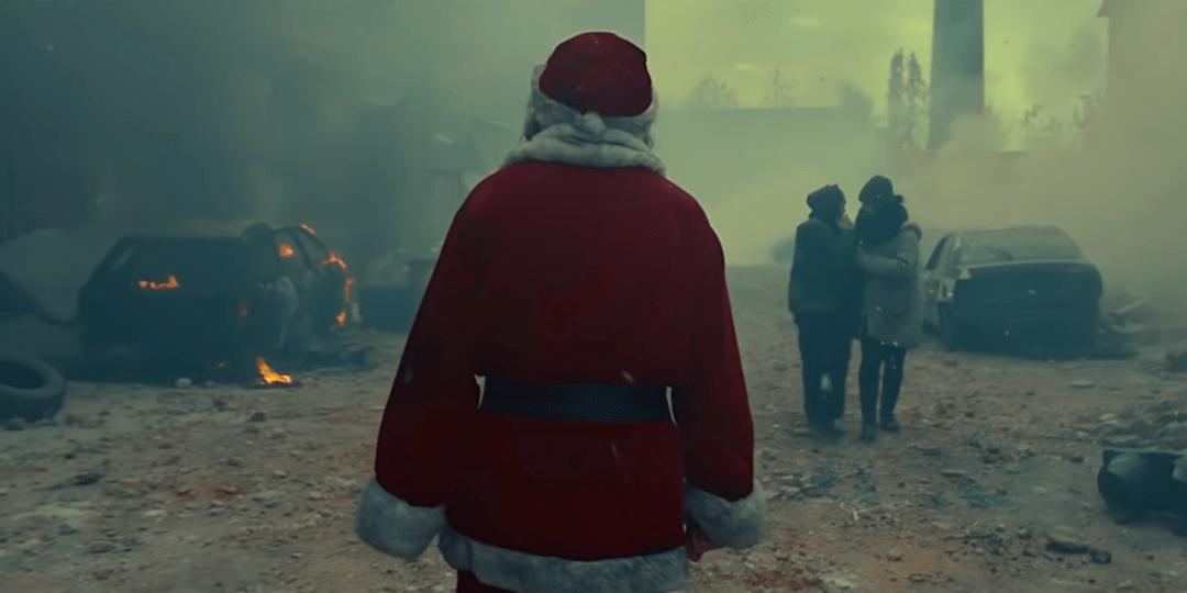 Red Cross Santa Can't Deliver Ad