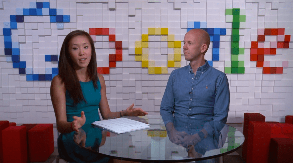 Google VP of Global Small Business Marketing at the Google Partners Connect Event