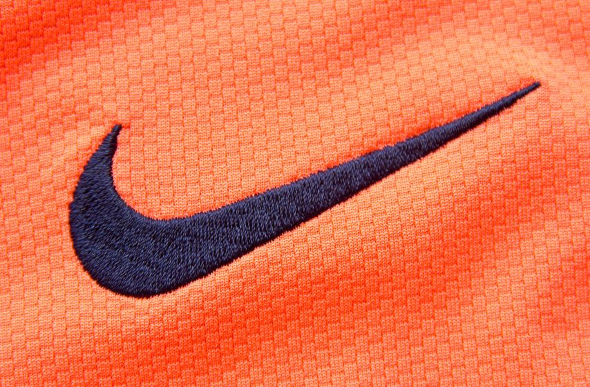 The Nike logo works in many different colors and contexts