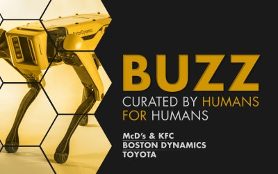 Weekly Buzz: Boston Dynamics, Toyota & More