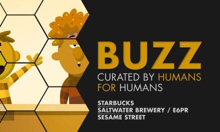 Weekly Buzz: Starbucks, Saltwater Brewery & Sesame Street