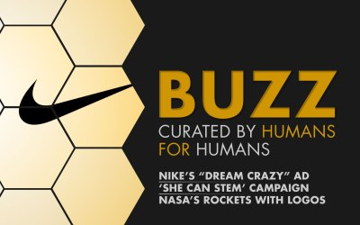 """Weekly Buzz: Nike's """"Dream Crazy"""", She Can STEM, & NASA"""