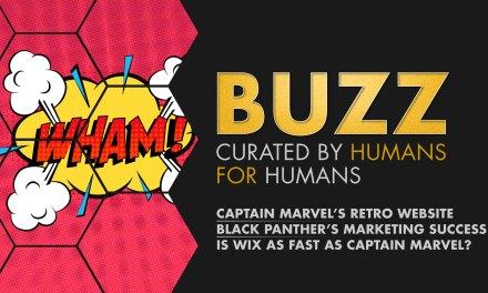 Weekly Buzz: Captain Marvel's Website, Black Panther Retrospective, & Wix Turbo.