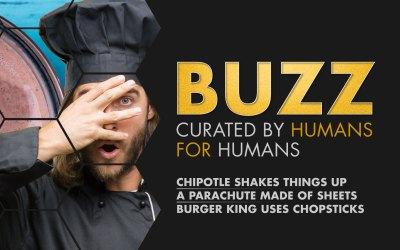 Weekly Buzz: Chipotle Shakes, Parachute, & Burger King Chopsticks