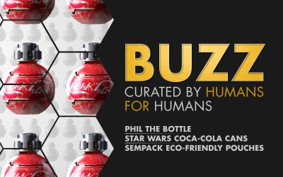 Weekly Buzz: Phil The Bottle, Star Wars Coca-Cola Cans, & Sempack Pouches