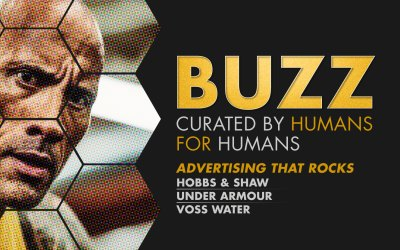 Weekly Buzz: Hobbs & Shaw, Under Armour, & Voss Water
