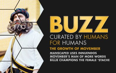 Weekly Buzz: Manscaped, Movember, & Billie