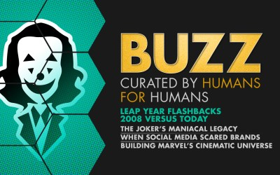 Weekly Buzz: Jokers of Batman Past, When Brands Feared Social Media, & The Year Marvel Started the Universe