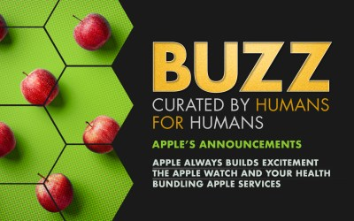 Weekly Buzz: Apple's Announcements