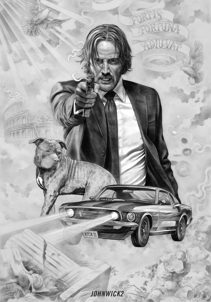 Wick Tattoo Poster