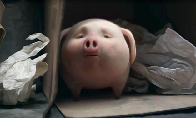 Santander Bank Pigs Out