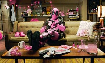Deadpool Donates a Pink Suit