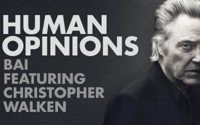 Human Opinions: Bai with Christopher Walken