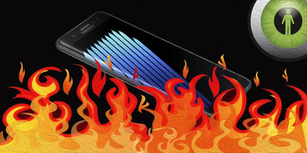 Samsung on Fire