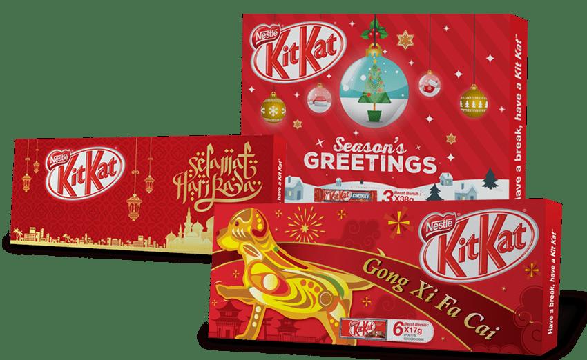 KitKat Packaging Design