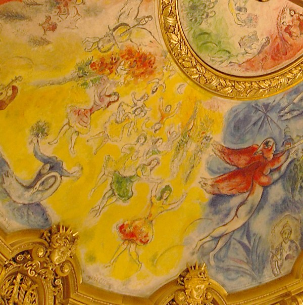 Marc Chagall Tribute Famous Composers Painting