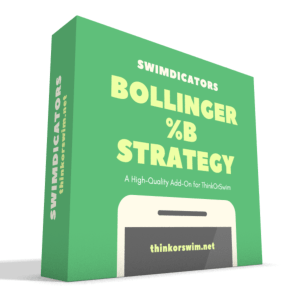 Bollinger Percent B %b Trading Strategy for ThinkOrSwim - box