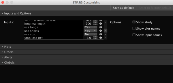 R3 Trading Strategy for ThinkOrSwim - settings 3