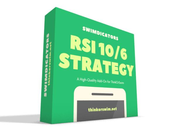 RSI 10-6 trading strategy for thinkorswim box