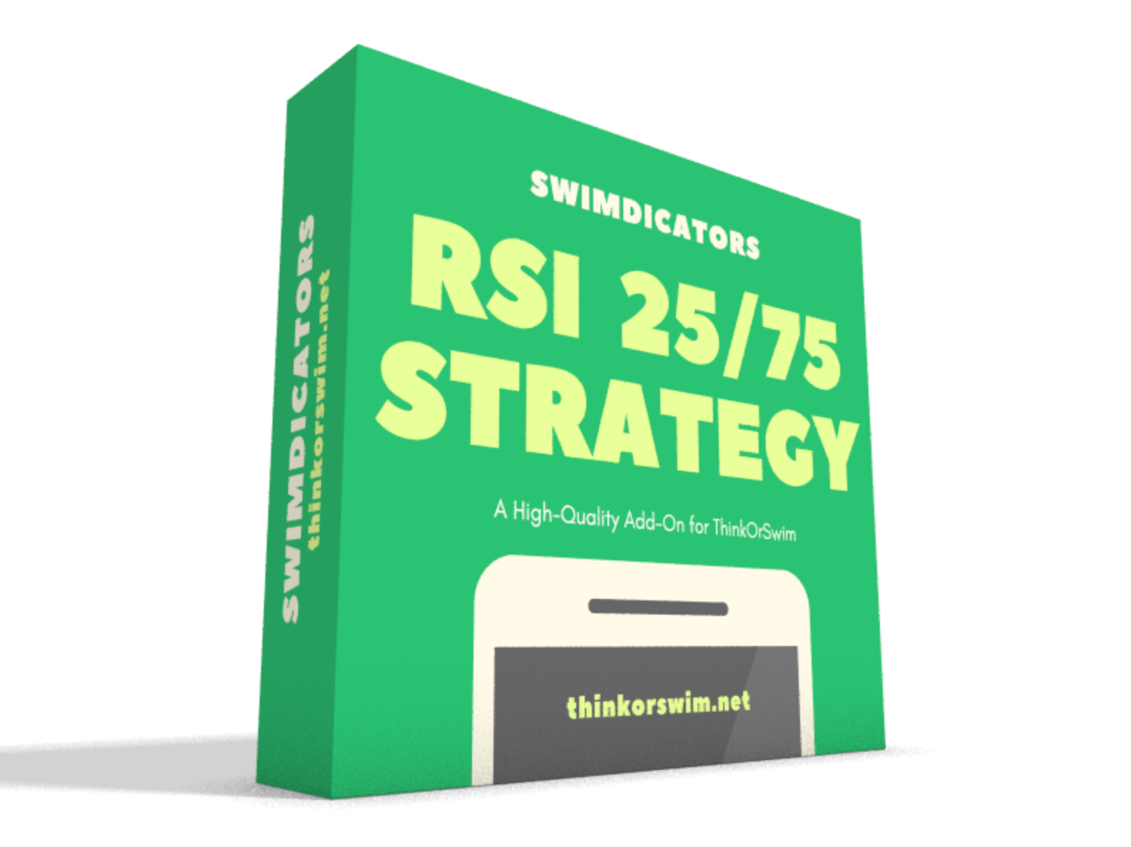 Rsi 25/75 long strategy