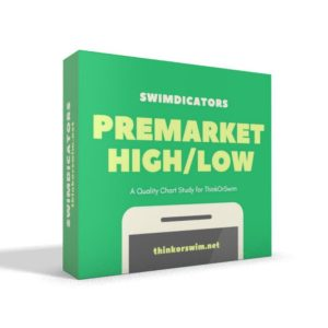 premarket high low range indicator study for thinkorswim