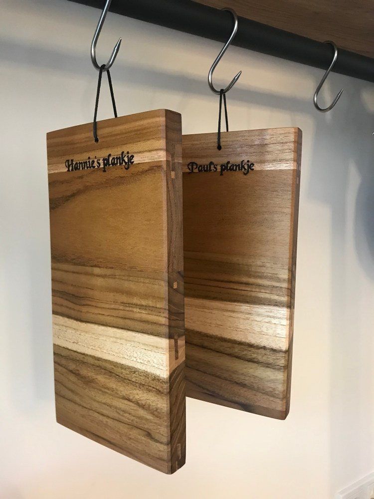 Luxury cutting boards with name or logo
