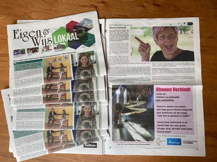 Artikel in Eigen & Wijs Lokaal