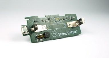 1st prototype PCB.