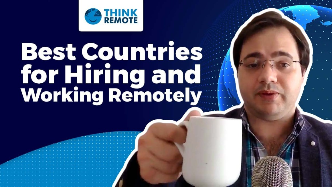 Luis talks about best countries for hiring and working remotely during his coffee chat