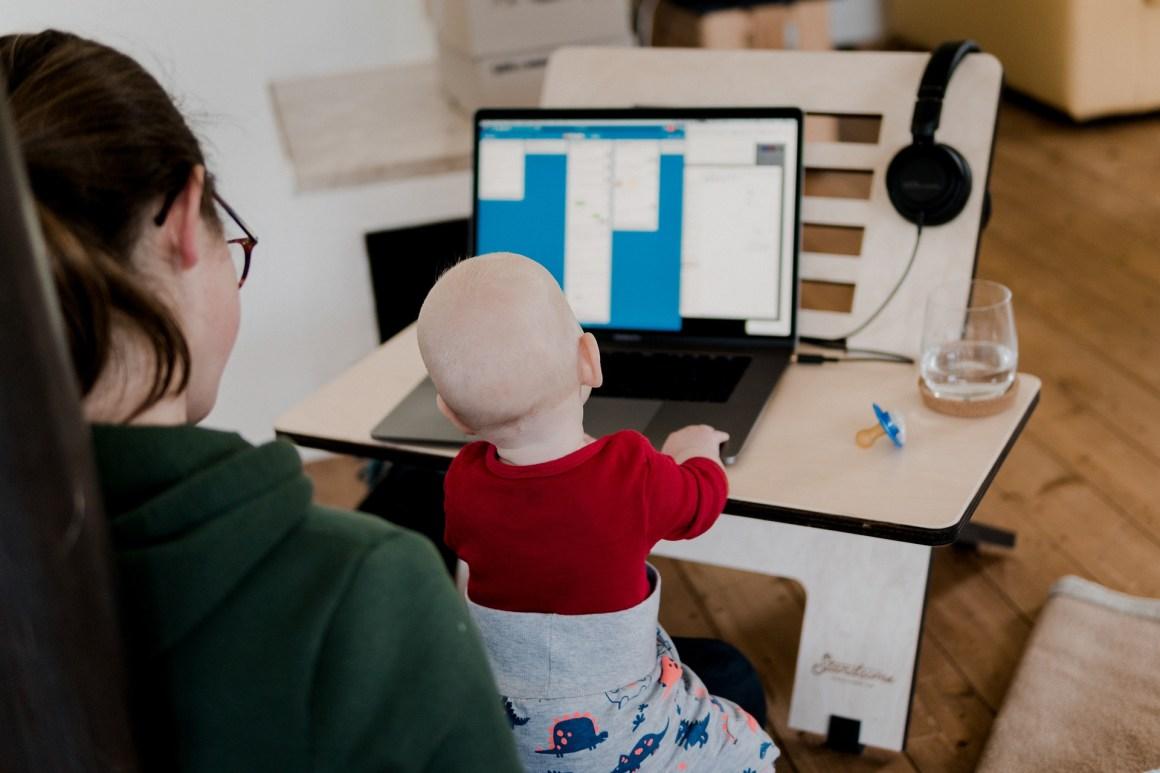 remote work women men