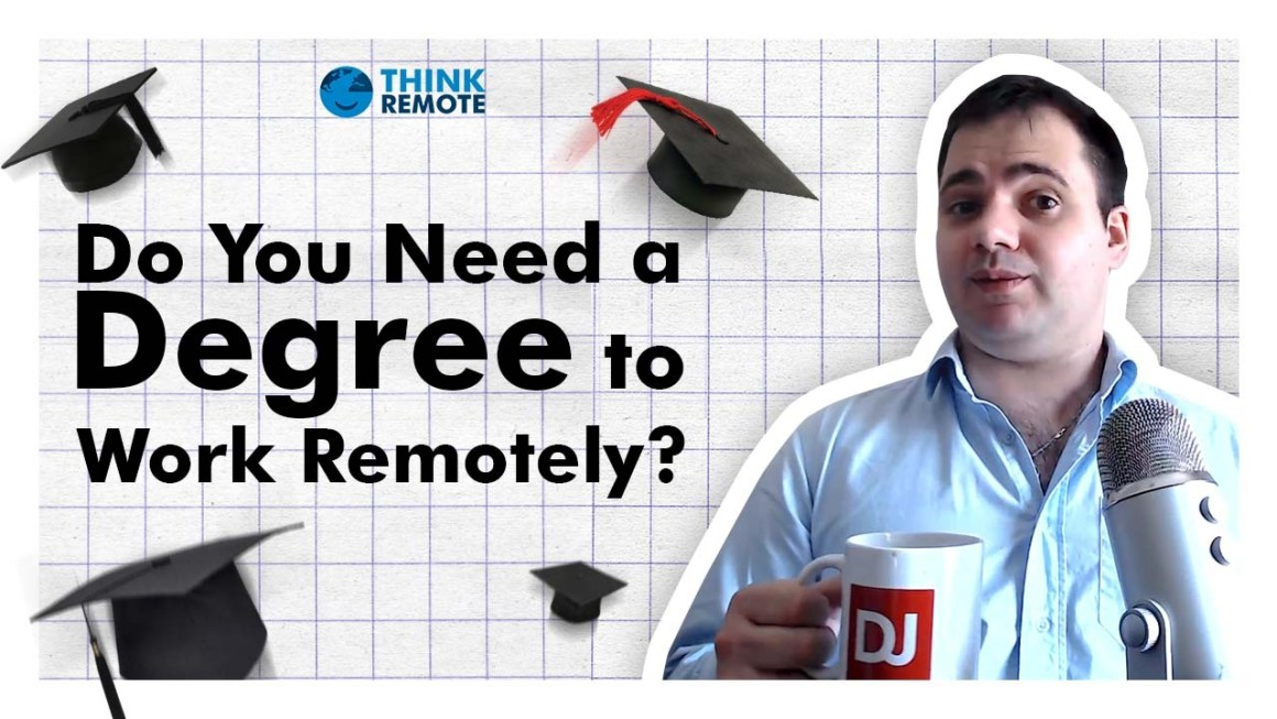 remote work degree