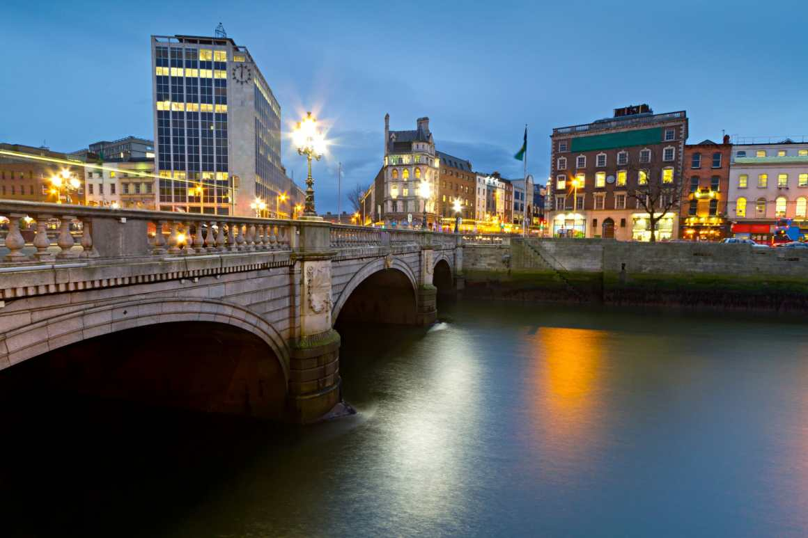 Bridge in Dublin