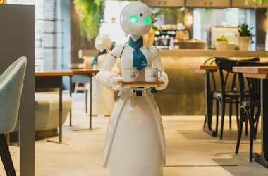 Robot Café - Photo courtesy of Ory Laboratory Inc.