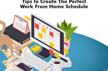 Work from home schedule