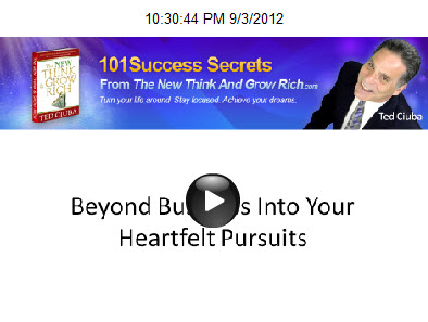 Beyond Business Into Your Heartfelt Pursuits