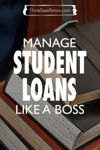 Pinterest: Manage student loans like a boss