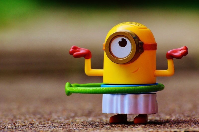 This minion just doesn't give a shit.